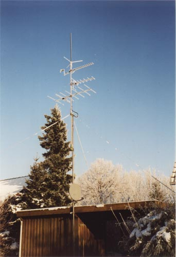 UKW Antenne im Winter