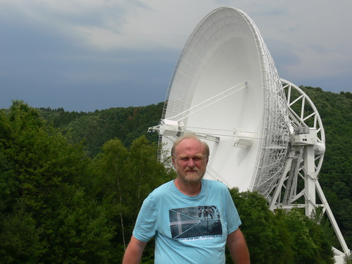 Radio Telescope Effelsberg in the Eifel