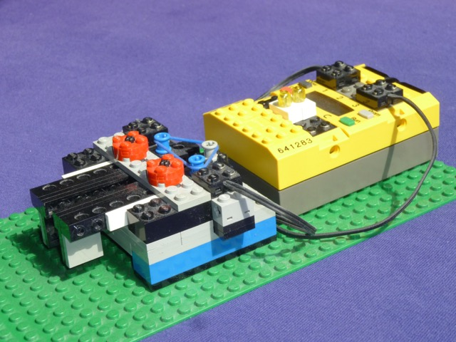LEGO® Iambic Keyer (version 2 by M0HSW)